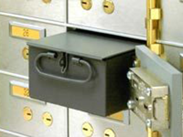 Safe Deposit Boxes and Lockers